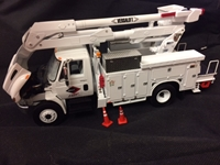 Die Cast Metal International® DuraStar® Utility Bucket Truck Diecast truck, die cast toy, die cast bucket truck, versalift truck, versalift toy truck