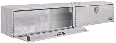 Elegant Aluminum Topside Toolbox 16x13x88 Cabinet, Tool, Tools, Box, Storage, Lock,
