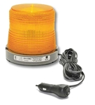 Quadflash Strobe Light  quadflash, strobe, magnetic mount, 12volt strobe light, plastic magnetic mount base, towing, tow, utility, emergency, LED, truck, warning lights, plow, plowing
