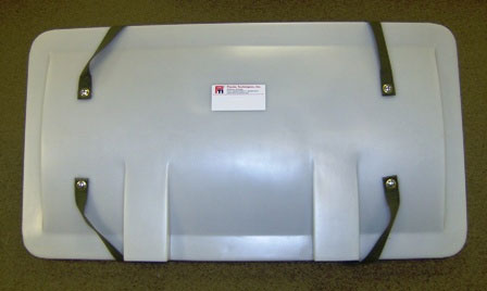 Poly Hard Lid for Bucket Truck