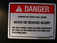 Conductive Hoses Decal
