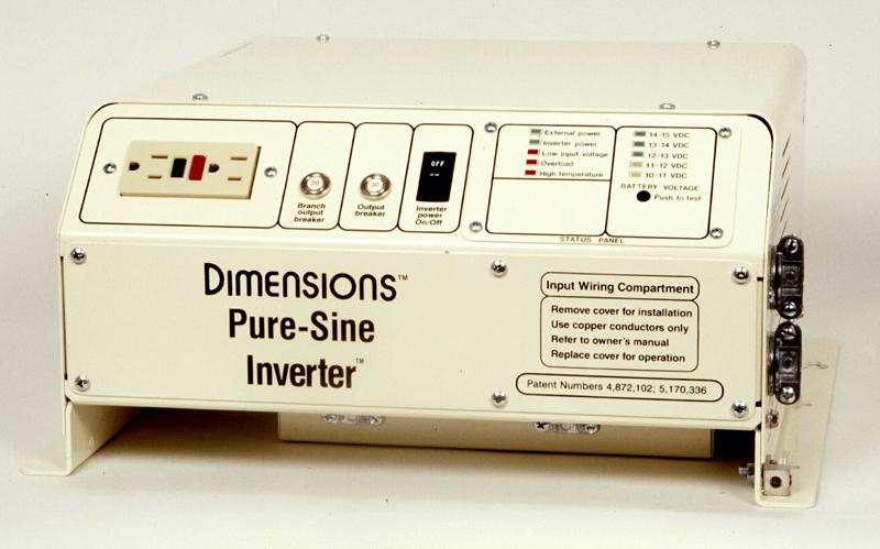 Magnum Dimensions Inverter 1800 Watts 12 1800n