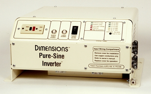 Dimensions Pure-Sine Inverter