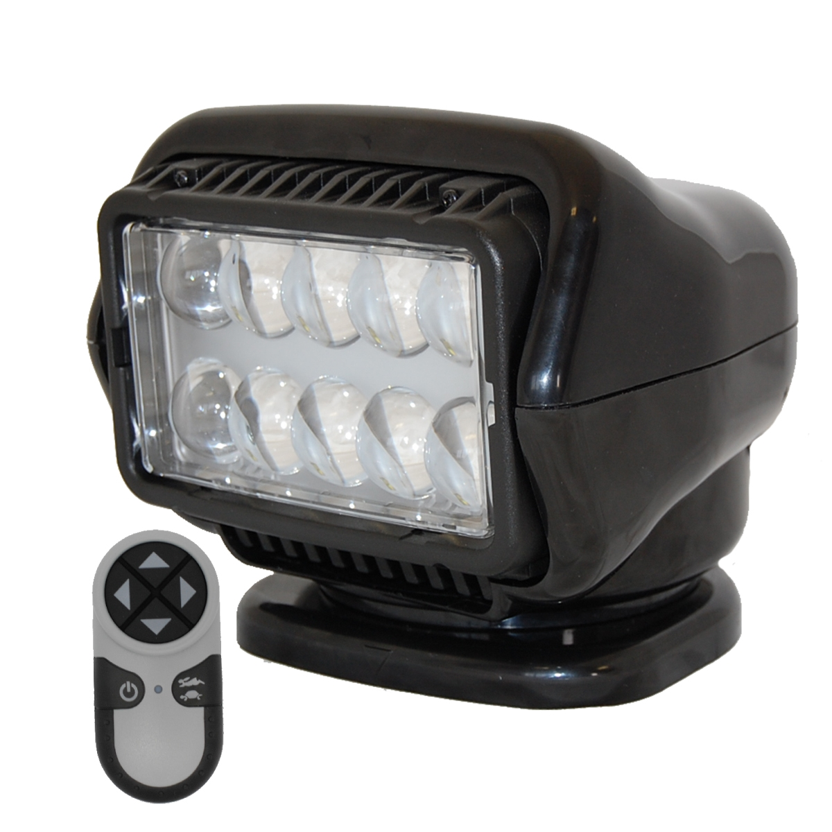 STRYKER - LED Remote Control Searchlight With Wireless Handheld Remote - Black 30514 Stryker Lights  sc 1 st  Versalift East Parts and Accessories Store & Featuring Golight Unity u0026 Superior Utility Search u0026 Spot lights for ...