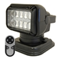 SEARCHLIGHT by Golight - LED PORTABLE RADIORAY W/MAGNETIC SHOE - BLACK Lights, lighting, wireless, remote, searchlight, searchlights, mount, mounting, search, light, safety, LED, Halogen, beam, light beam, search & rescue, rescue, search and rescue, CERT, emergency, spotlight, spot light, agriculture, farm, farming, farmer, outdoor, nighttime, outdoor activities, camp, camping, hunting, boating, off-roading, offroading, event lights, event lighting, lighting, fire, police, municipal, tow, towing, plow, plowing, snow plow, truck lights, rv, RV, recreation, recreation vehicle, law enforcement, marine lighting, work vehicle lights, golight, Golight, Golite, golite, radioray, Radioray, radio, ray, vehicle lighting, automotive, heavy equipment, floodlight, flood, light