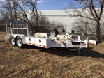 Utility Towing Trailer - Heavy Duty  tow, towing, bed, equipment,